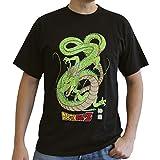 ABYstyle - Camiseta de Manga Corta para Hombre, diseño de Bola de dragón, Color Negro