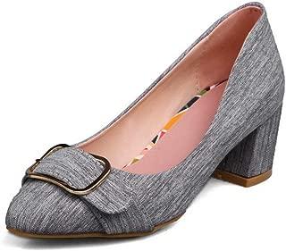 BalaMasa Womens APL12339 Pu Heeled Sandals