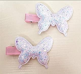 Mädchen Snap Haarspange Candy Farbe Legierung Haarnadel Nette helle HaarspangePG