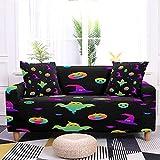 WXQY Funda de sofá elástica de Halloween con diseño de araña...