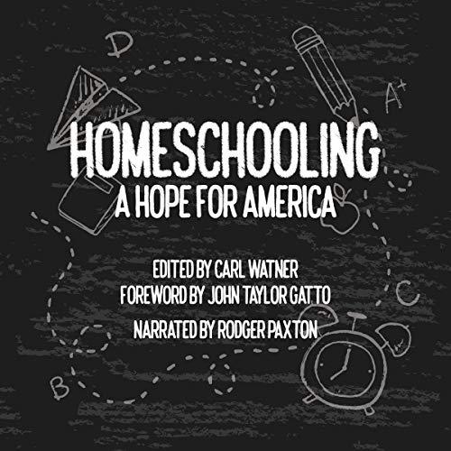 Homeschooling audiobook cover art
