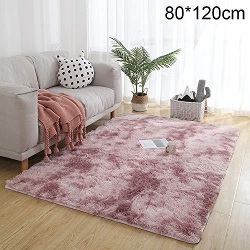 XdiseD9Xsmao duurzame Tie-dye tapijtdeken, zacht, warm polyester, vloermat, pluizig, antislip, tapijt, thuis, woonkamer, slaapkamer