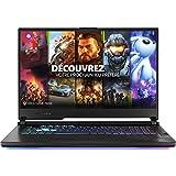 ASUS ROG STRIX-G17-G712LV-EV009T PC Portable 17,3'' FHD 144Hz (Intel Core i7-10750H, RAM 16Go DDR4 (8Go x 2), 1To SSD, Optimus NVIDIA GeForce RTX 2060 GDDR6 6GB, Windows 10) Clavier AZERTY Français