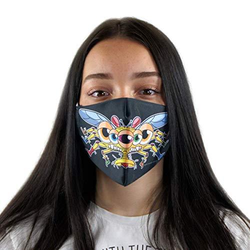 Premium Mundschutz-Maske - Atemschutz - waschbar und wiederverwendbar - FLYNT