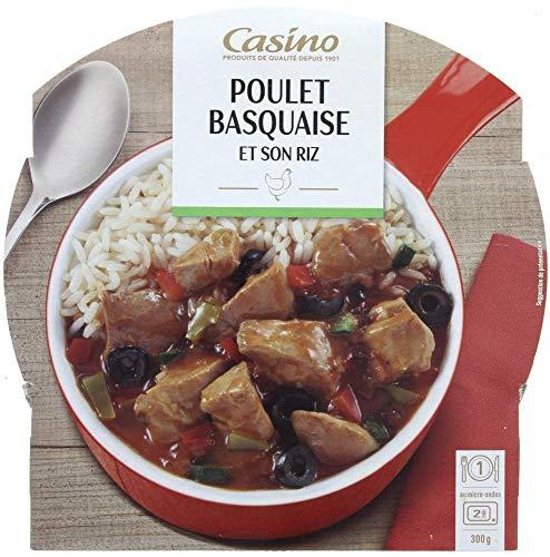 CASINO Poulet Basquaise/Riz
