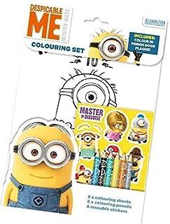 les minions - Dmcst - Pack De Coloriage Et D'autocollants