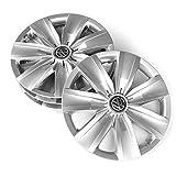Volkswagen 2ga071456Tapacubos (4Unidades) 16Pulgadas tapacubos Brillant Plata