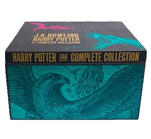 Harry Potter Hardcover UK 'Bloomsbury of London' Edition Complete Series Box Set - Hot choice