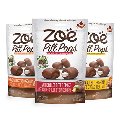 Zoë Pill Pops for Dogs, All Natural, Healthy Dog...