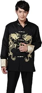 Tai Chi Top Royal Kung Fu Jacket for Men Chinese Shirt Clothing