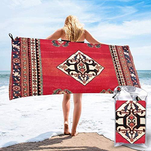 N/A Qashqa'i Kashkuli Fars Southwest Persischer Teppich Druck Strand schnell trocknend Handtuch Mikrofaser Yoga Fitness saugfähig Handtuch Outdoor Klettern schnell trocknend Handtuch