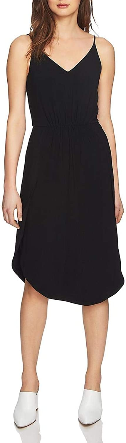 1.STATE Womens Jersey Special Occasion Slip Dress