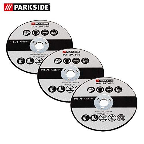Parkside Trennscheiben Set 3 teilig, Ersatz Trennscheiben für Parkside Winkelschleifer PWSA 12 Li A1 LIDL IAN 297696
