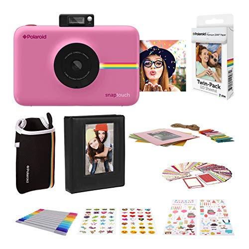 Polaroid Snap Touch 2.0 - Cámara Digital portátil instantánea, Rosa + Set Regalo