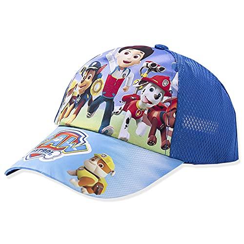 Cappellino da Bambino, Baseball cap Cotton, Berretto per Bambini con Motivo Cane, Paw-Patrol-cap, Born Brave