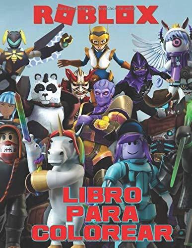 Libro Para Colorear Roblox: Libro para colorear de Roblox para niños y adultos, incluye +50 imágenes lindas y simples de alta calidad de Roblox , ... de diversión (libro de actividades de Roblox)