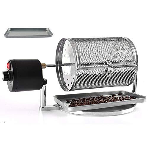 LIULIU Kaffeebohne Röster Haushalt Backmaschine Kaffeebohnen Home Edelstahl Röster Roller Kaffee Röstmaschine