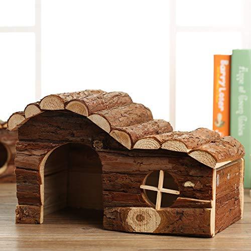 Willlly Igelhaus Holz Mit Rinde 31X19X19