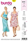 Burda Schnittmuster 6312, Kleid [Damen, Gr. 32 44] zum selber nähen, ideal für Fortgeschrittene [L3]