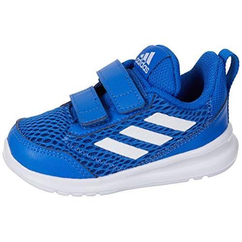 adidas Altarun CF I, Pantofole Unisex-Bambini, Multicolore (Azul/Ftwbla/Azul 000), 19 EU