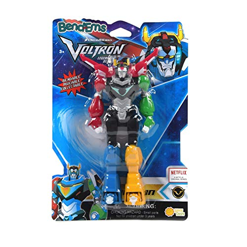 Sunny Days Entertainment BendEms Collectible Posable Action Figure - Voltron Legendary Defender