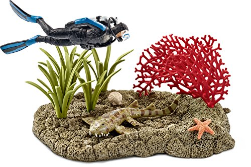 Schleich 42328 - Taucher im Korallenriff