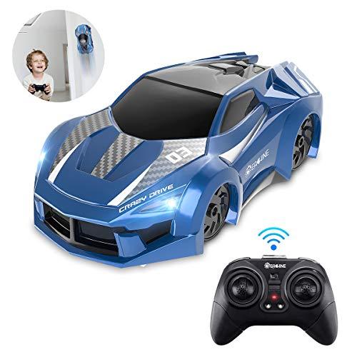 EACHINE EC03 Ferngesteuertes Auto Kinder Wandklettern RC Car 360 ° Rotating Stunt Dual-Fahrmodus Kinderauto mit LED-Leuchte Fahrzeuge Spielzeug Geschenke für Kinder