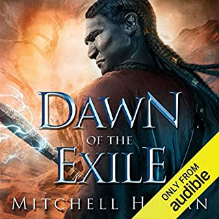 Dawn of the Exile audiobook cover art