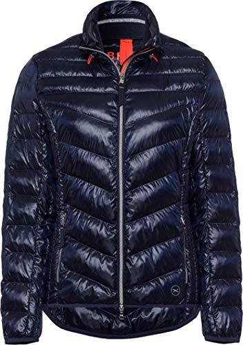 BRAX Damen Style Bern Zero Down Jacke, Blau (Navy 22), (Herstellergröße: 46)