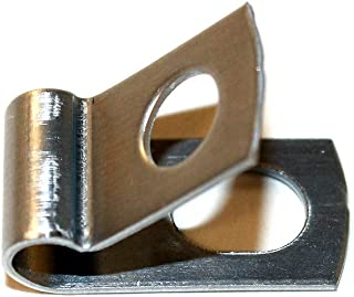 Fence Wire Clamps w/Metal Screws - 100 pk