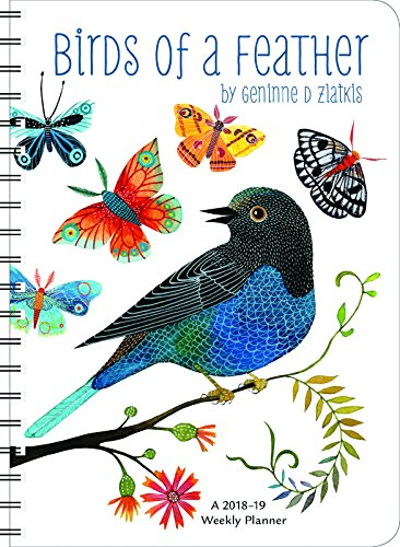 Geninne Zlatkis 2019 On-the-Go Weekly Planner: 17-Month Calendar with Pocket (Aug 2018 - Dec 2019, 5 x 7 closed)