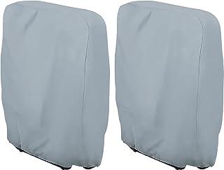 Moonkit Housse de Protection pour Fauteuil Relax Pliable Lafuma et Sungörl Chaise Longue Couverture de Meubles de Jardin 420D Oxford Polyester 93x 82 CM