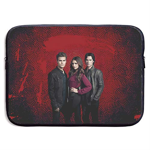 Vampire Diaries Laptop Sleeve Bag Tablet Fashion Briefcase Ultra Portable Protective Cover MacBook Air MacBook Pro Notebook Computer Sleeve Case 15 inch