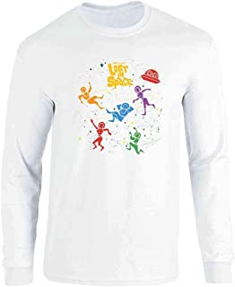 Lost in Space Floating Cast Long Sleeve T-Shirt