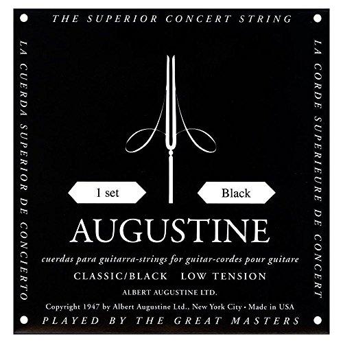 Augustine BLACK Saiten Set Nylon - Konzertgitarre
