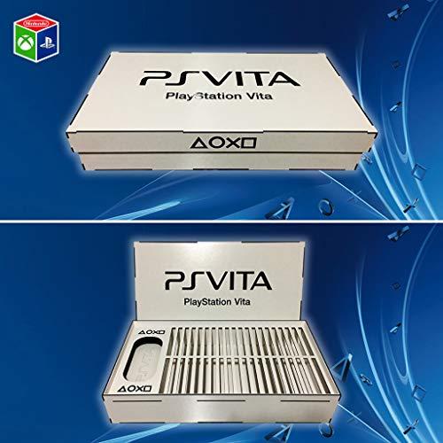 Organizador PS Vita (console e 40 jogos) Branco