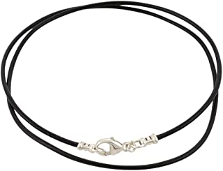 thin leather necklace cord