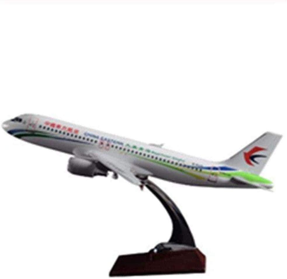N-Y 37cm Resin Plane Model Eastern China Airplane A320 OFFer Air 2021
