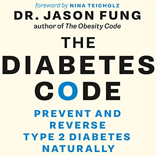 The Diabetes Code audiobook cover art