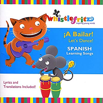 ¡A Bailar! Let's Dance! (Spanish learning songs for kids/Canciones infantiles)