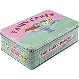 Nostalgic-Art 30708 Home & Country - Fairy Cakes - Fresh every Day, Vorratsdose Flach