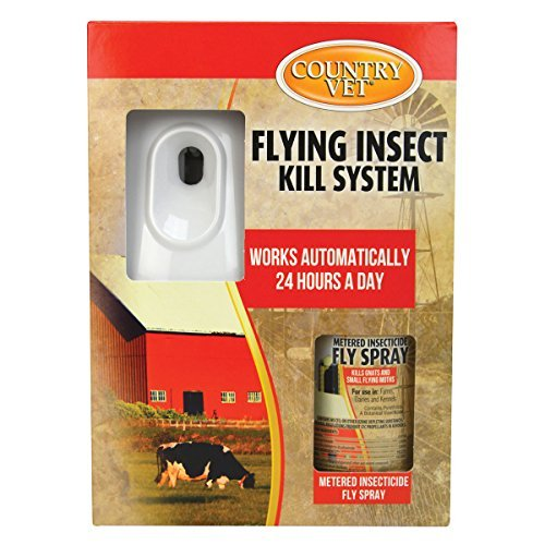 Country Vet Equine Automatic Flying Insect Control Kit (Case of 1)
