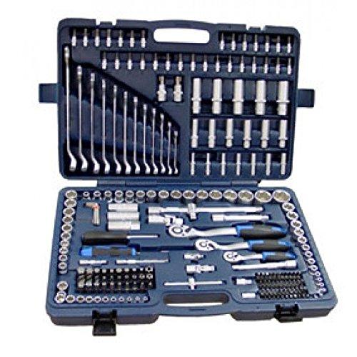 """Fesa - Maletin estuche de herramientas 215 Piezas : ½"""", 3/8"""", ¼"""""""