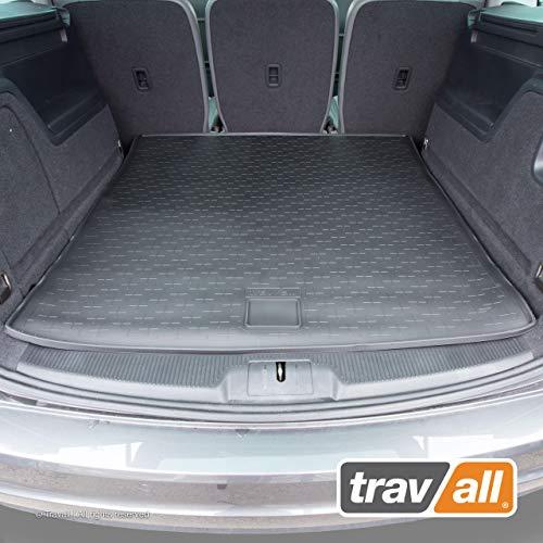 Travall CargoMat Liner Kofferraumwanne Kompatibel Mit SEAT Alhambra und Volkswagen Sharan (Ab 2010) TBM1079 - Maßgeschneiderte Gepäckraumeinlage mit Anti-Rutsch-Beschichtung