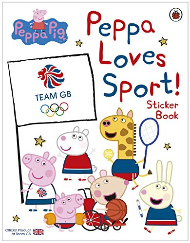 Peppa Pig: Peppa Loves Sport! Sticker Book: Official Product of Team GB