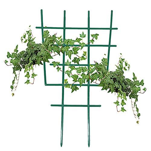 Ellepigy Plastic Garden Climbing Plant Flowers Steel Frame Trellis Vines Floral Decor Green Yard Round Weather-Proof