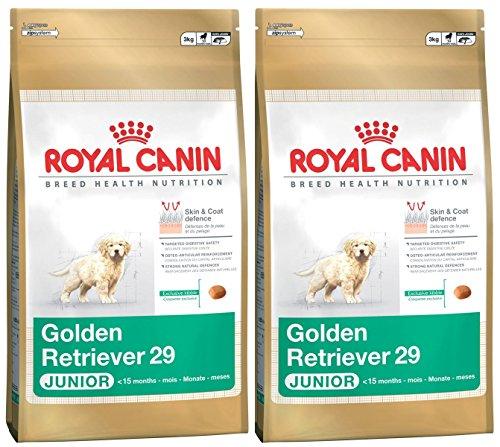 2 x 12 kg – Royal Canin Multicomprar Golden Retriever 29 Dry Puppy (Junior Perro) comida ⭐
