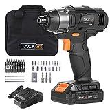 Atornillador de Impacto 18V, TACKLIFE 180 Nm Pistola de Impacto, 2.0Ah, 2800 Velocidad Máxima y...