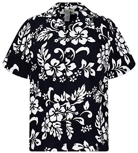 KY's Original Hawaiihemd, 81, Schwarz, S