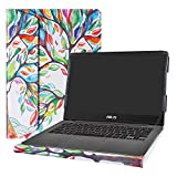 Alapmk Diseñado Especialmente La Funda Protectora para 14' ASUS ZenBook UX430UA UX430UN UX410UA UX410UQ & ASUS VivoBook S14 S430UN & HP 340S G7 Series Laptop,Love Tree